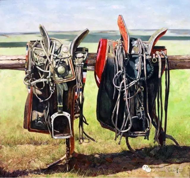【美图】青年画家柯西格巴图油画作品分享 第6张