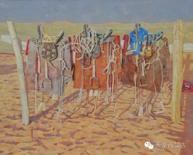 【美图】青年画家柯西格巴图油画作品分享 第11张