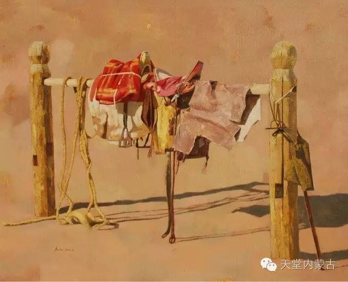 【美图】青年画家柯西格巴图油画作品分享 第10张