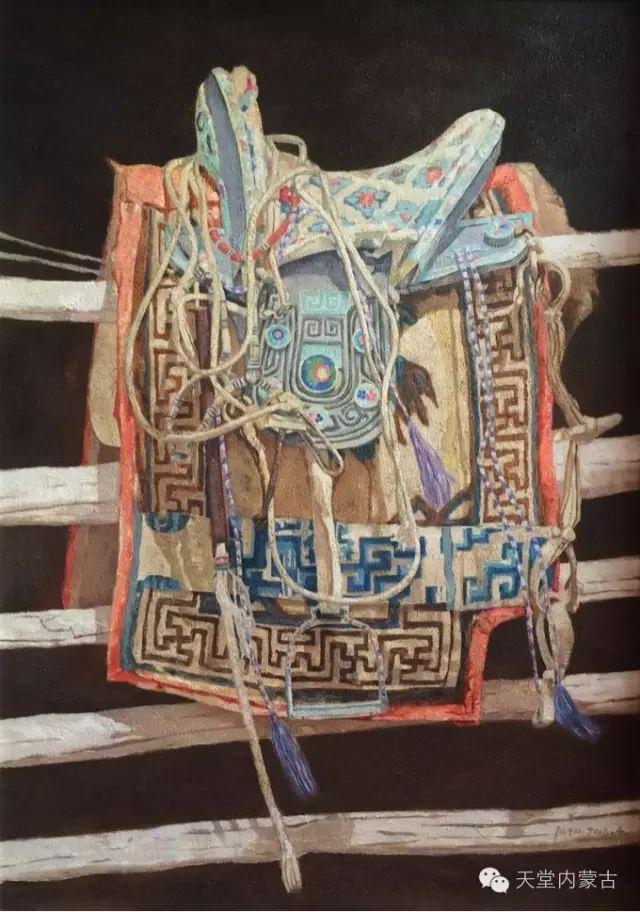 【美图】青年画家柯西格巴图油画作品分享 第12张