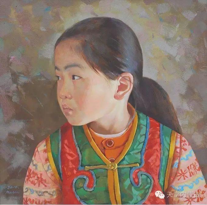 【美图】青年画家柯西格巴图油画作品分享 第16张