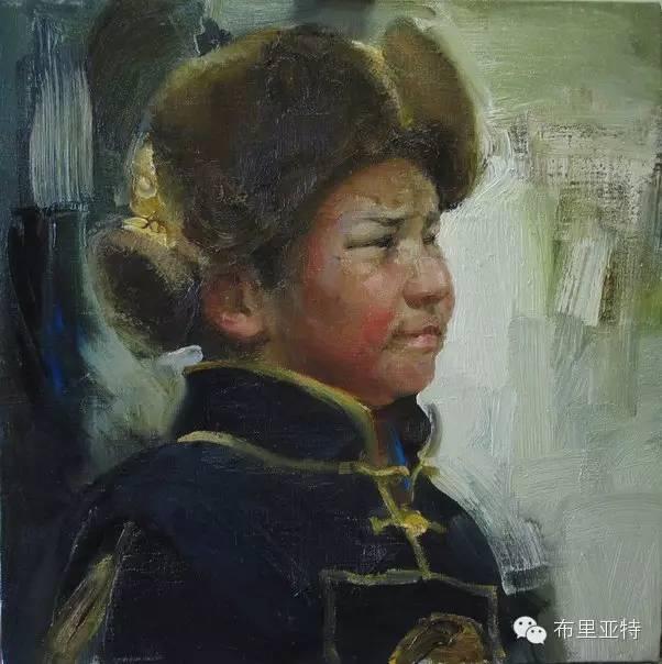 青年蒙古画家敖特格·巴达玛油画作品分享 第2张 青年蒙古画家敖特格·巴达玛油画作品分享 蒙古画廊