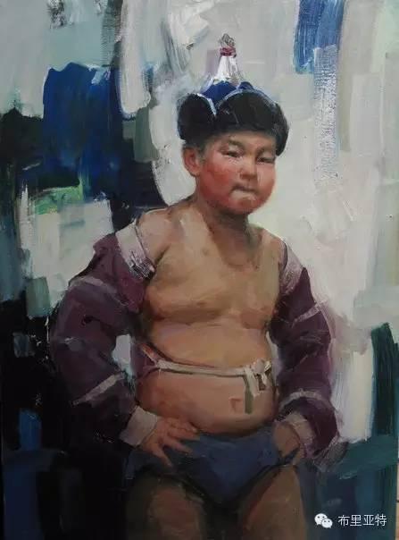 青年蒙古画家敖特格·巴达玛油画作品分享 第6张 青年蒙古画家敖特格·巴达玛油画作品分享 蒙古画廊
