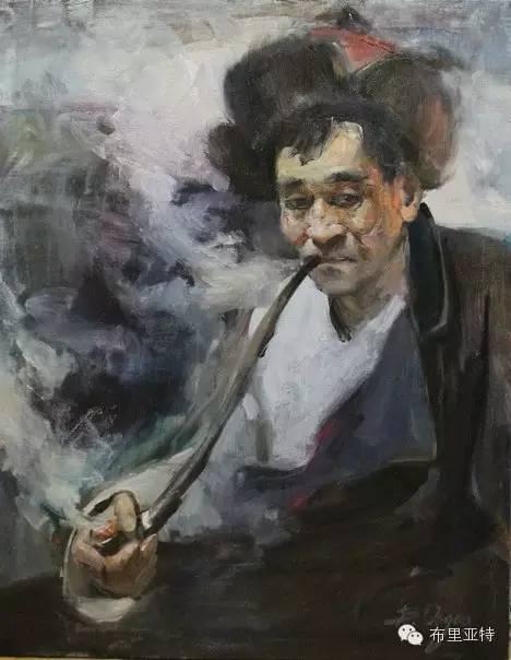 青年蒙古画家敖特格·巴达玛油画作品分享 第9张 青年蒙古画家敖特格·巴达玛油画作品分享 蒙古画廊