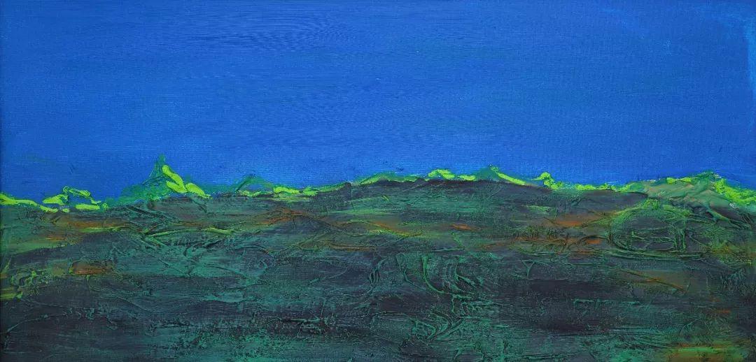 中国当代蒙古族实力派青年画家,雕塑艺术家阿鲁斯 第8张