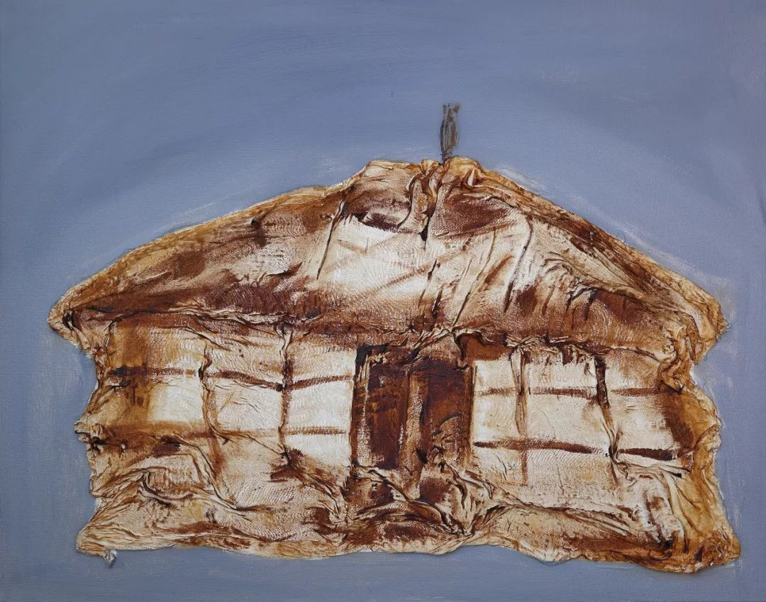 中国当代蒙古族实力派青年画家,雕塑艺术家阿鲁斯 第10张