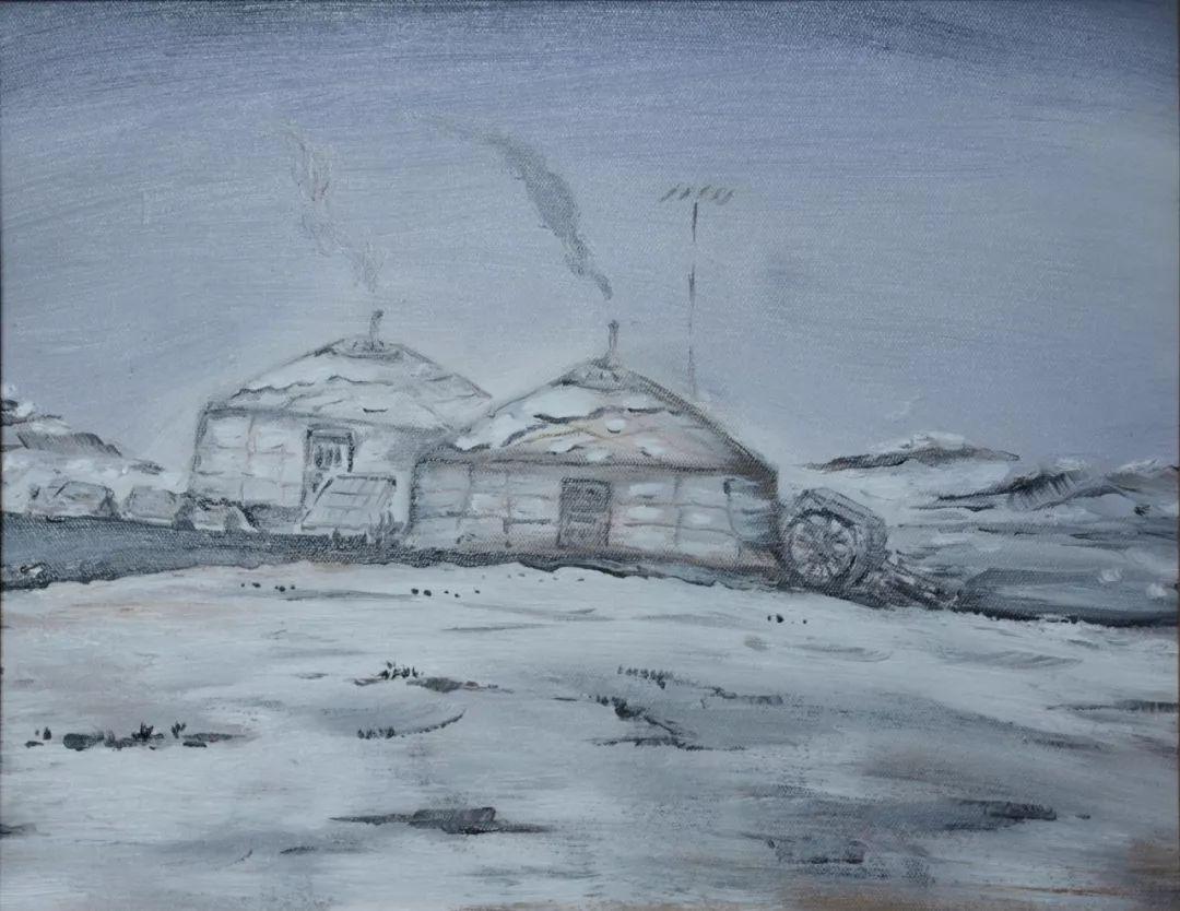 中国当代蒙古族实力派青年画家,雕塑艺术家阿鲁斯 第14张