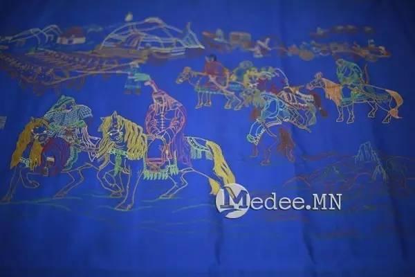世界上独一无二的刺绣本蒙古秘史,价值连城 第9张