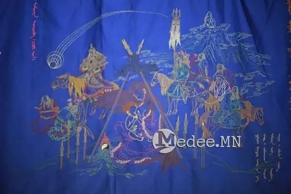 世界上独一无二的刺绣本蒙古秘史,价值连城 第11张