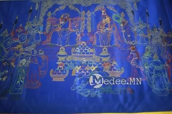 世界上独一无二的刺绣本蒙古秘史,价值连城 第10张