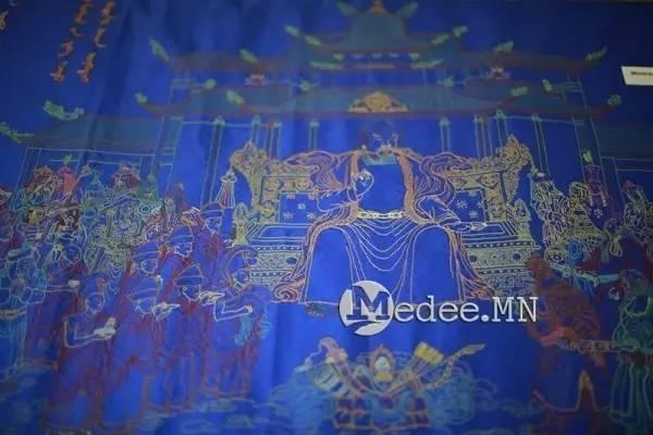 世界上独一无二的刺绣本蒙古秘史,价值连城 第17张