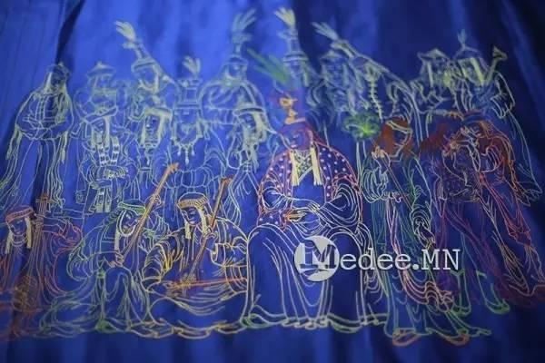 世界上独一无二的刺绣本蒙古秘史,价值连城 第24张