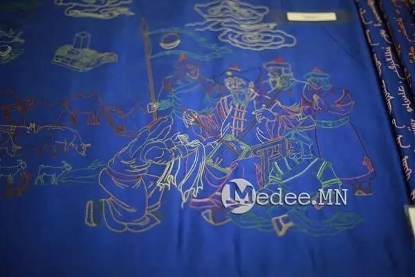 世界上独一无二的刺绣本蒙古秘史,价值连城 第26张