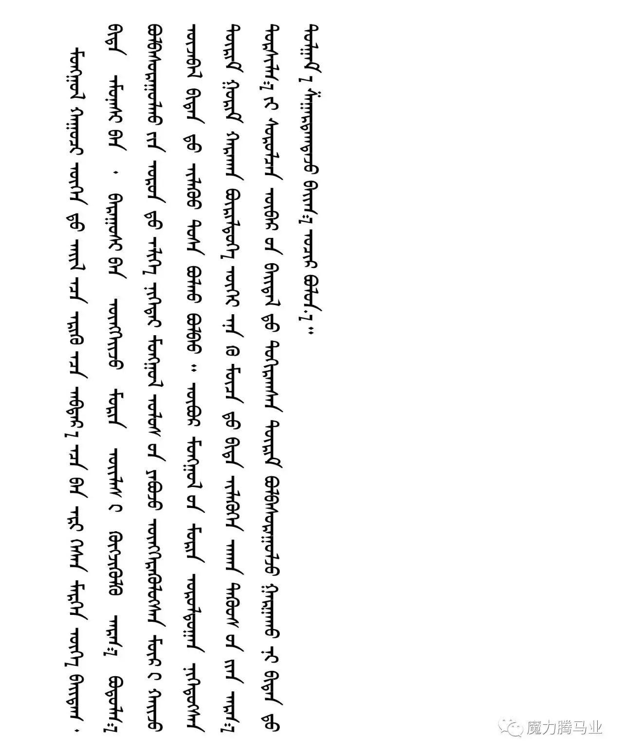 蒙古国赛马章程介绍 第5张 蒙古国赛马章程介绍 蒙古文库
