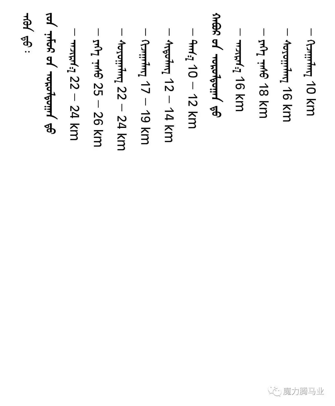 蒙古国赛马章程介绍 第21张 蒙古国赛马章程介绍 蒙古文库