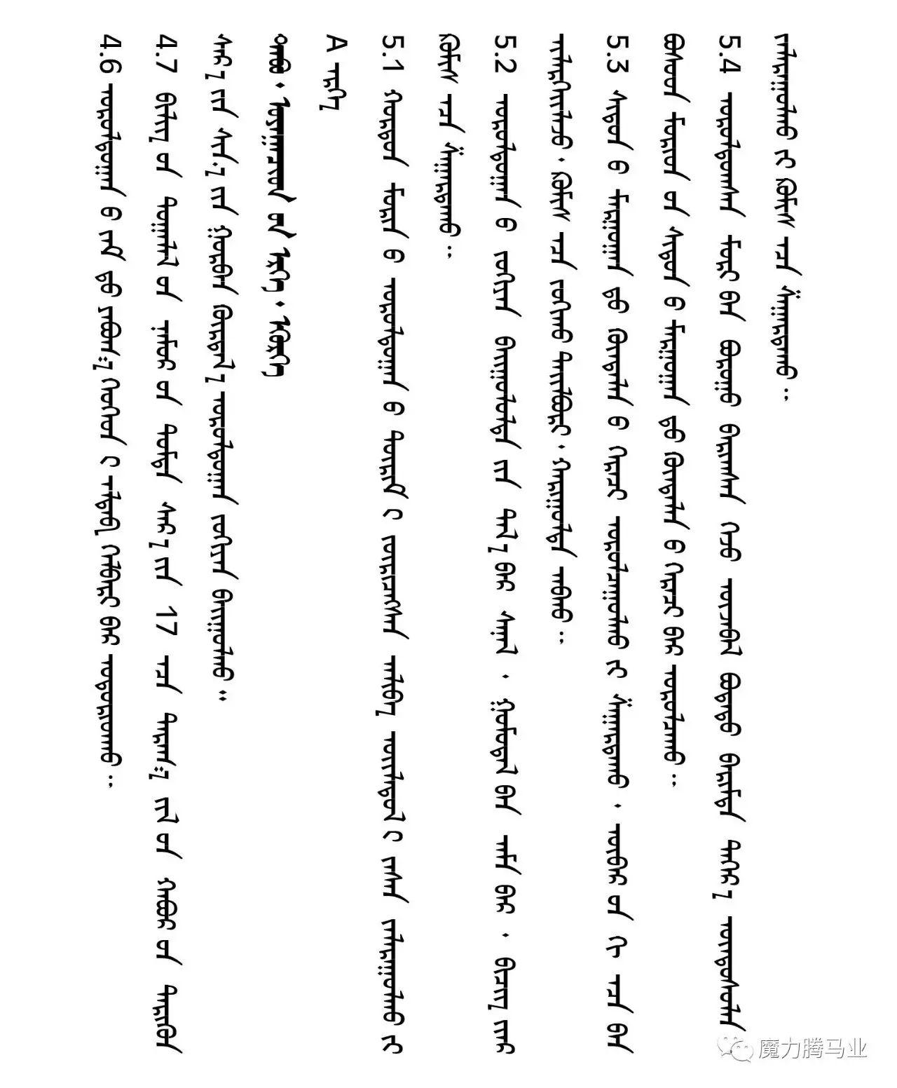 蒙古国赛马章程介绍 第31张 蒙古国赛马章程介绍 蒙古文库
