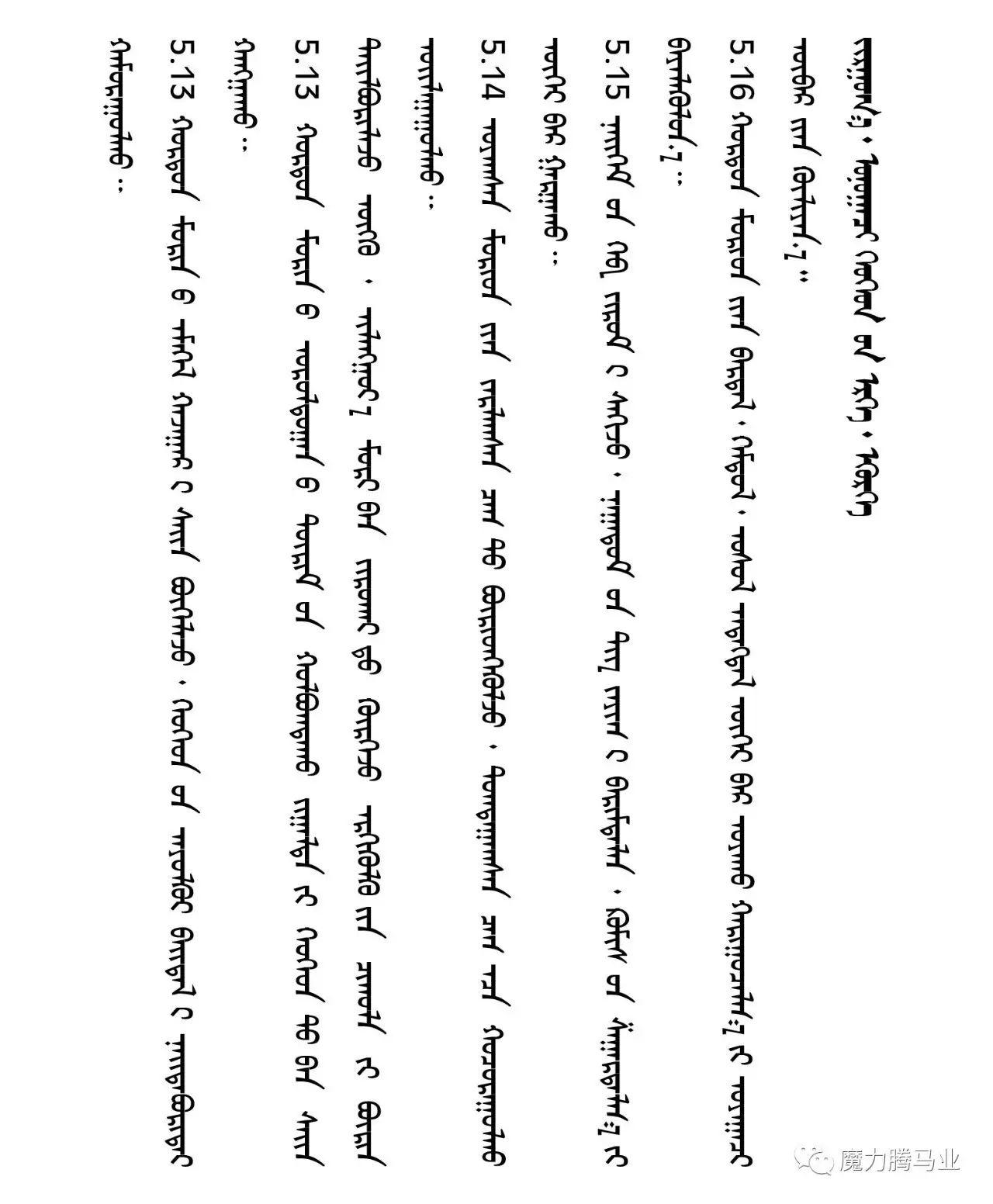 蒙古国赛马章程介绍 第35张 蒙古国赛马章程介绍 蒙古文库
