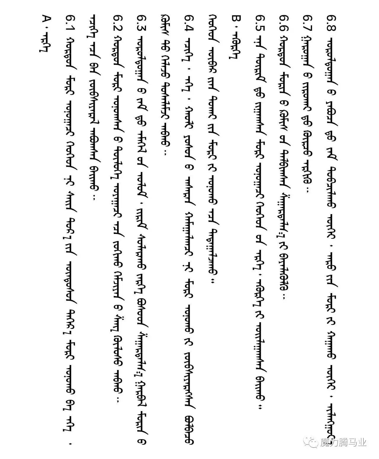 蒙古国赛马章程介绍 第37张 蒙古国赛马章程介绍 蒙古文库