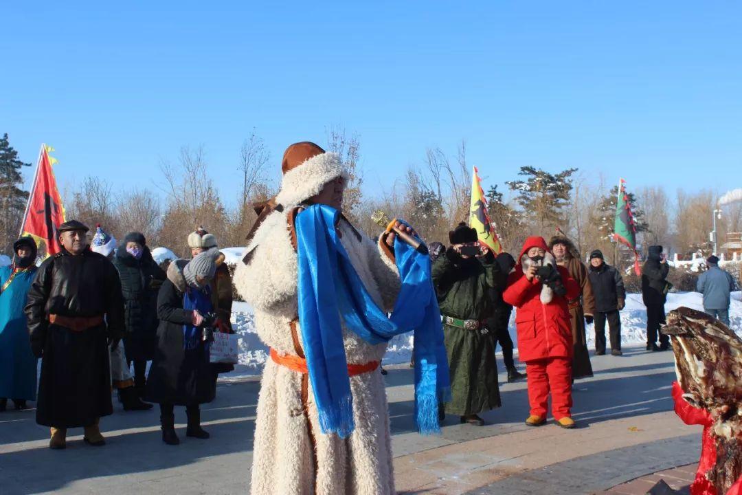 郭尔罗斯蒙古人的新年第一天 第2张 郭尔罗斯蒙古人的新年第一天 蒙古文化