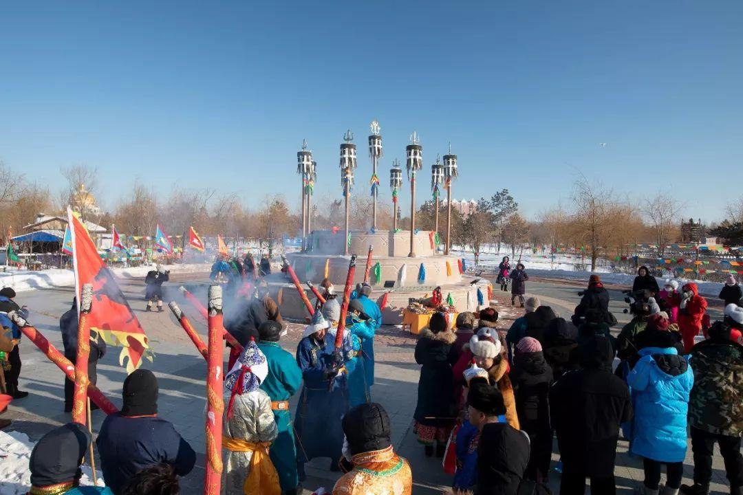 郭尔罗斯蒙古人的新年第一天 第1张 郭尔罗斯蒙古人的新年第一天 蒙古文化