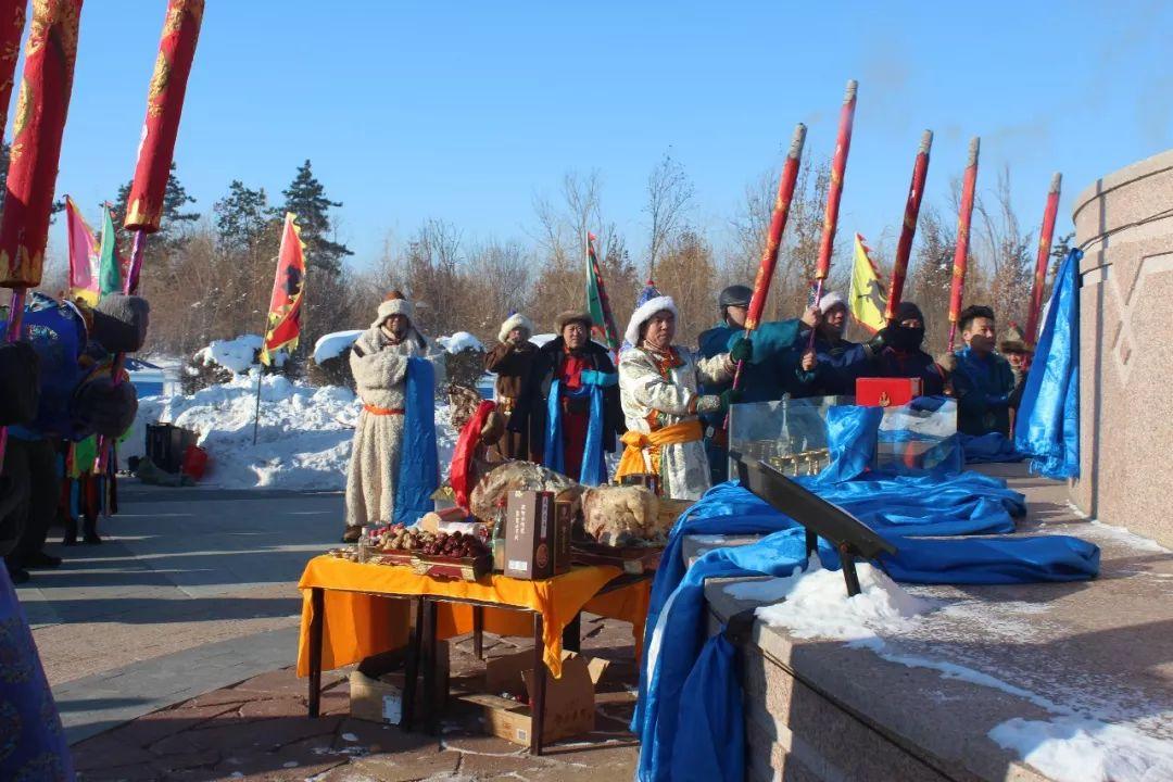 郭尔罗斯蒙古人的新年第一天 第4张