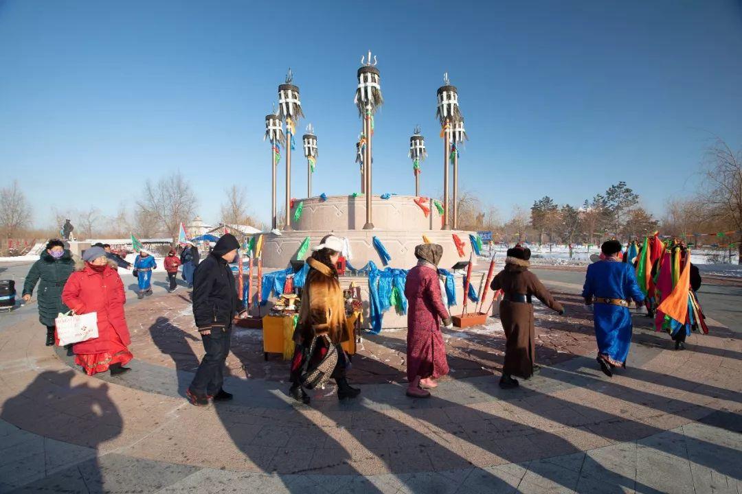郭尔罗斯蒙古人的新年第一天 第3张 郭尔罗斯蒙古人的新年第一天 蒙古文化