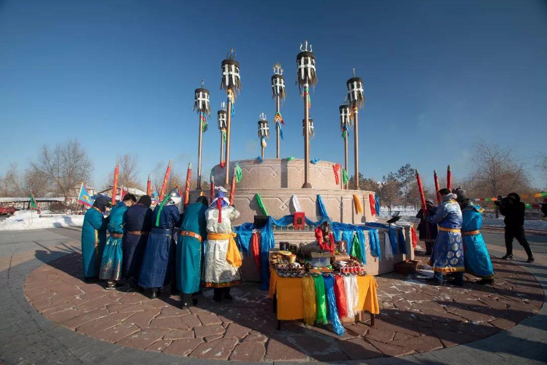 郭尔罗斯蒙古人的新年第一天 第6张 郭尔罗斯蒙古人的新年第一天 蒙古文化