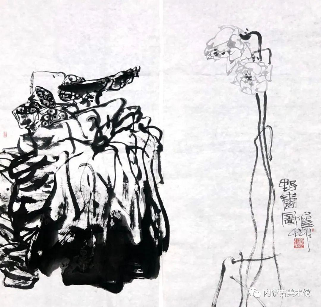 内蒙古美术馆,馆藏来了 第6张 内蒙古美术馆,馆藏来了 蒙古画廊