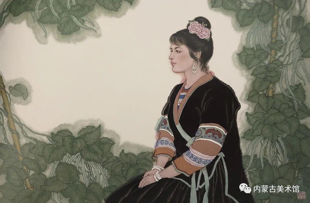 内蒙古美术馆,馆藏来了 第16张 内蒙古美术馆,馆藏来了 蒙古画廊