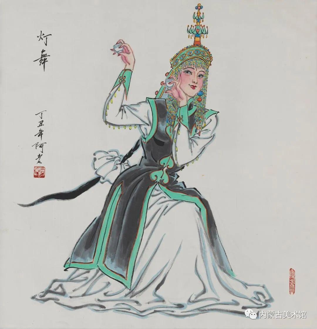内蒙古美术馆,馆藏来了 第17张 内蒙古美术馆,馆藏来了 蒙古画廊