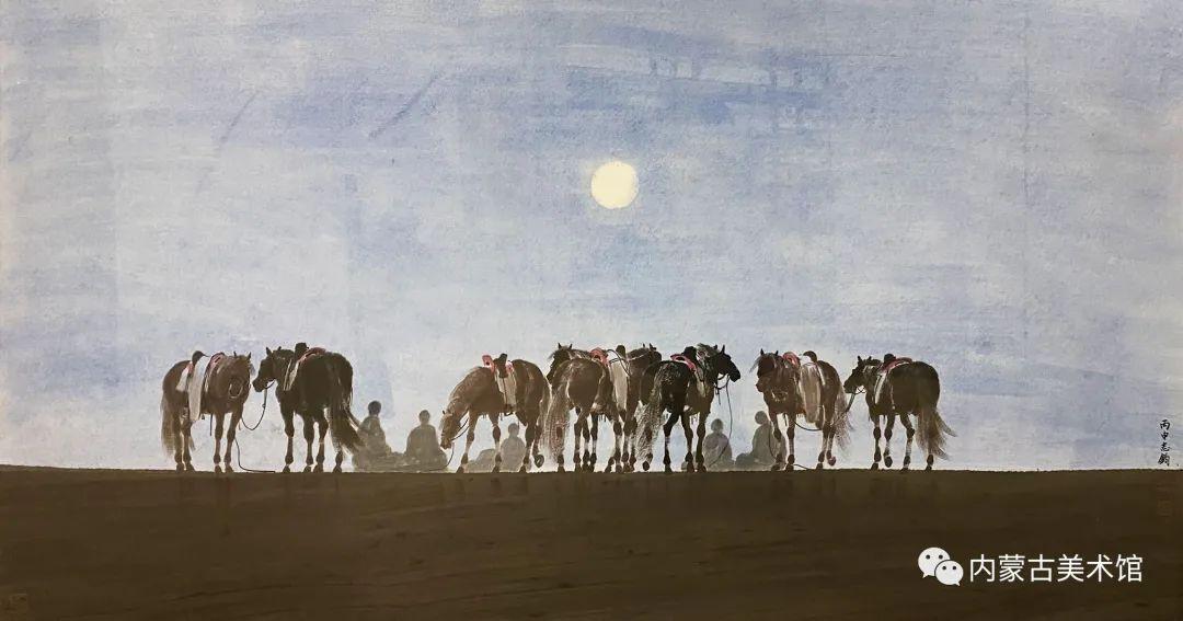 内蒙古美术馆,馆藏来了 第24张 内蒙古美术馆,馆藏来了 蒙古画廊
