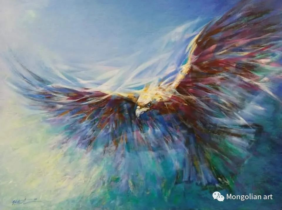 蒙古国青年艺术家 U.Battsooj 第3张