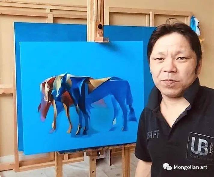 蒙古国青年艺术家 U.Battsooj 第1张