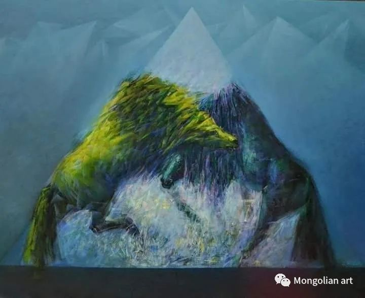 蒙古国青年艺术家 U.Battsooj 第6张
