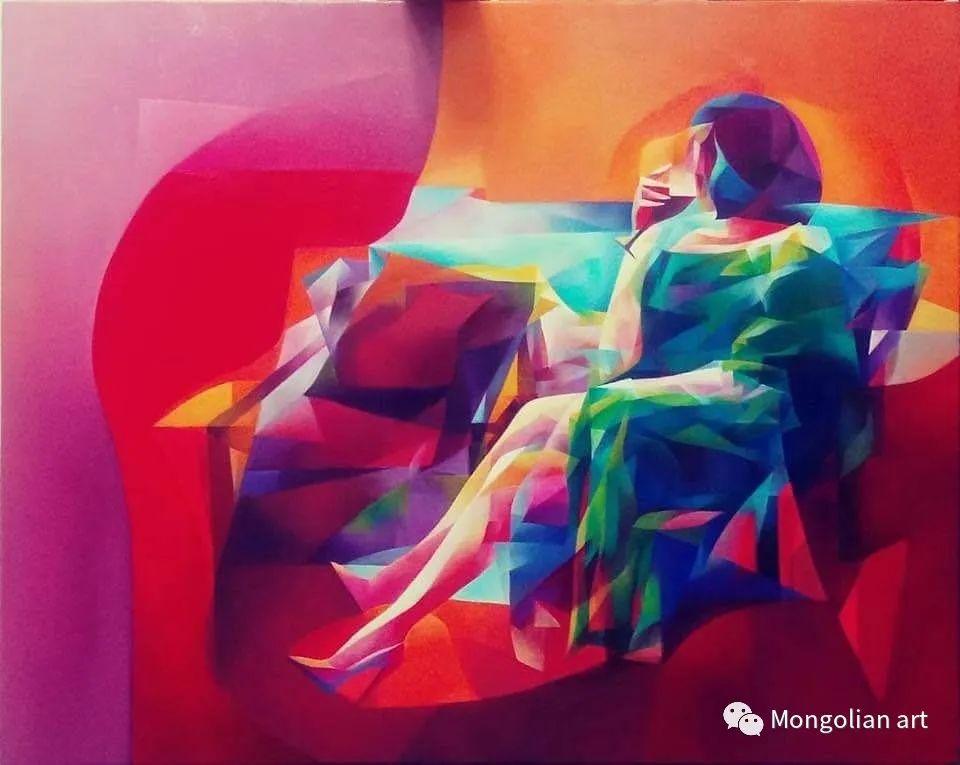 蒙古国青年艺术家 U.Battsooj 第5张
