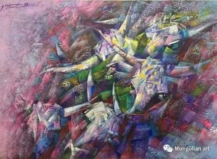 蒙古国青年艺术家 U.Battsooj 第8张