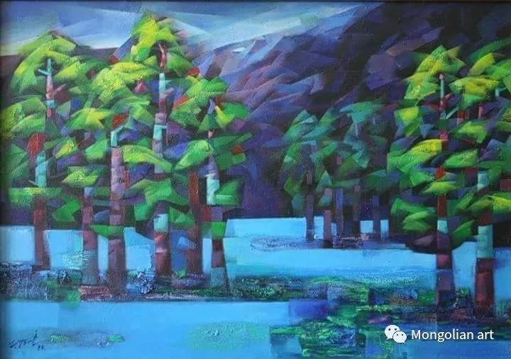 蒙古国青年艺术家 U.Battsooj 第11张