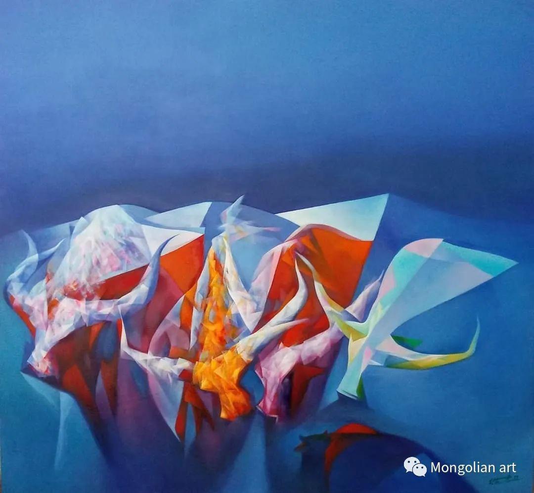 蒙古国青年艺术家 U.Battsooj 第17张