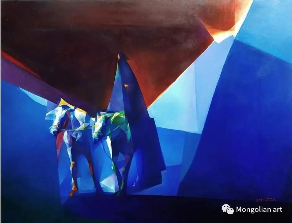 蒙古国青年艺术家 U.Battsooj 第19张
