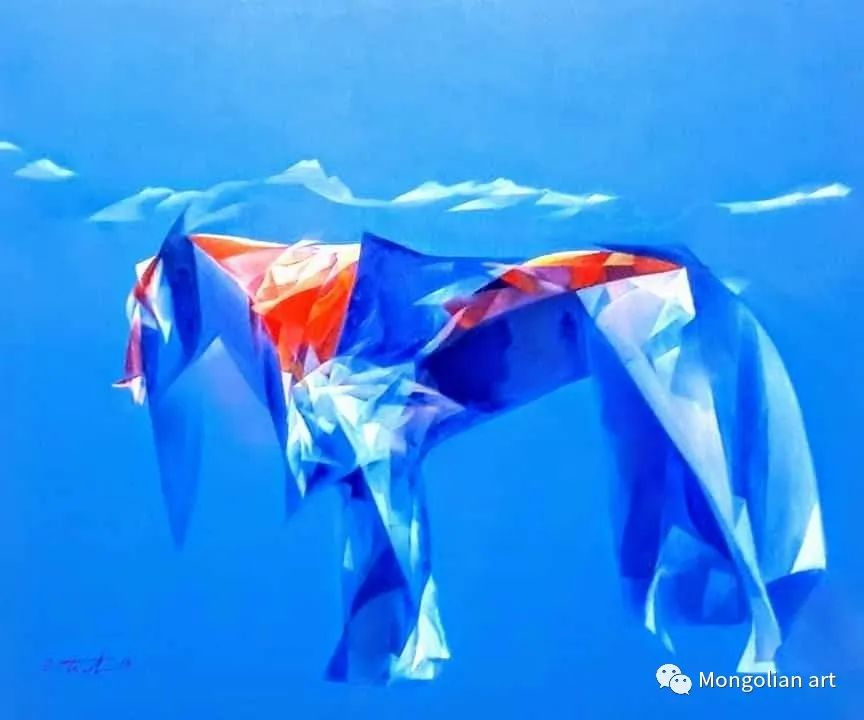 蒙古国青年艺术家 U.Battsooj 第20张