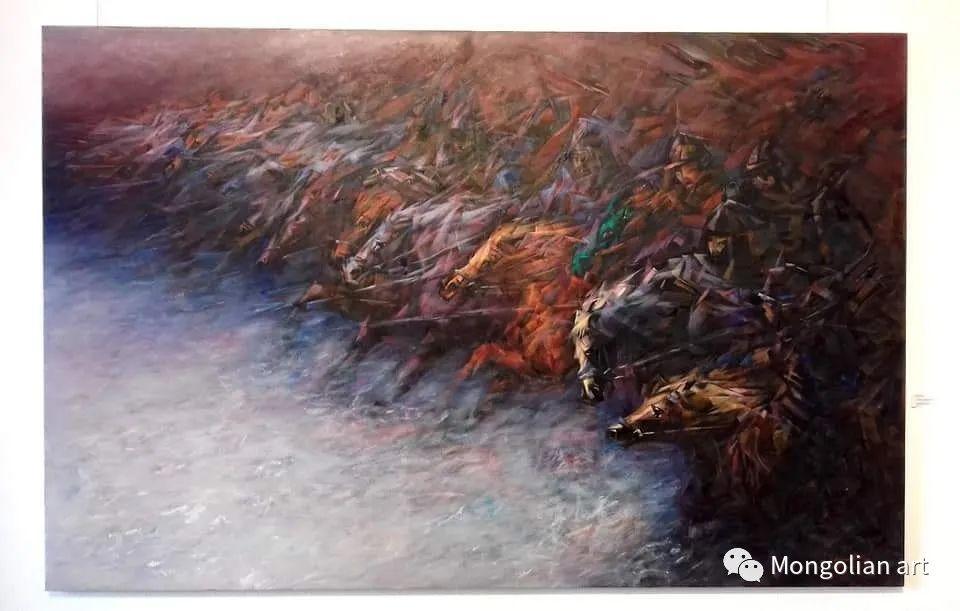蒙古国青年艺术家 U.Battsooj 第22张