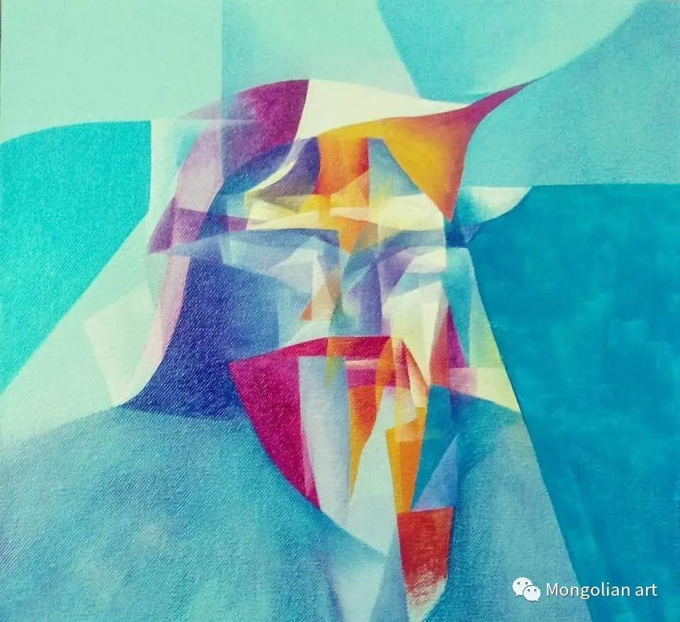 蒙古国青年艺术家 U.Battsooj 第28张