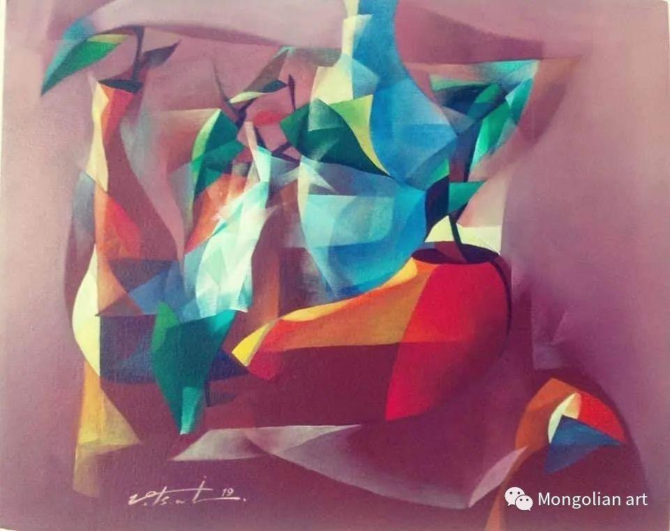 蒙古国青年艺术家 U.Battsooj 第27张