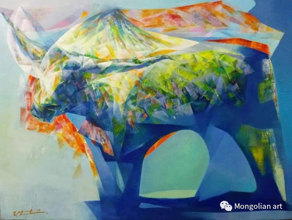 蒙古国青年艺术家 U.Battsooj 第25张