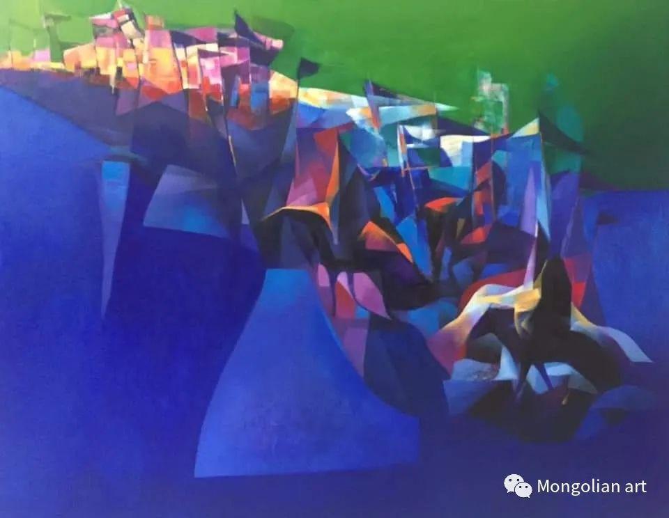 蒙古国青年艺术家 U.Battsooj 第31张