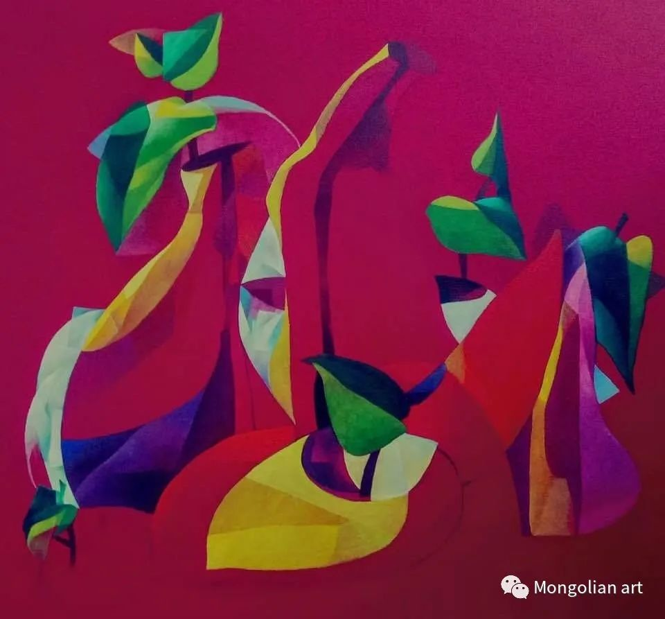 蒙古国青年艺术家 U.Battsooj 第32张