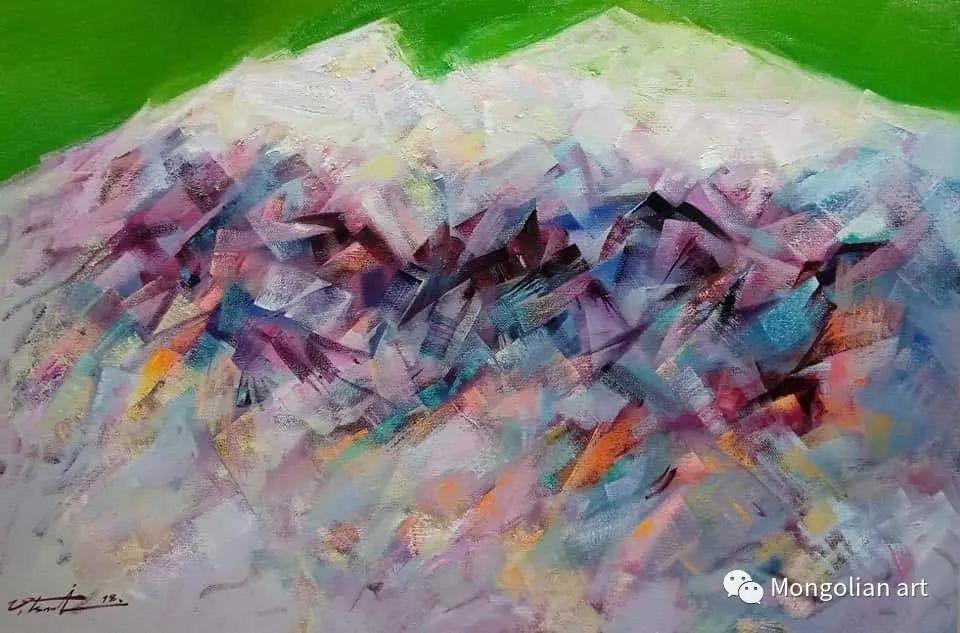 蒙古国青年艺术家 U.Battsooj 第34张