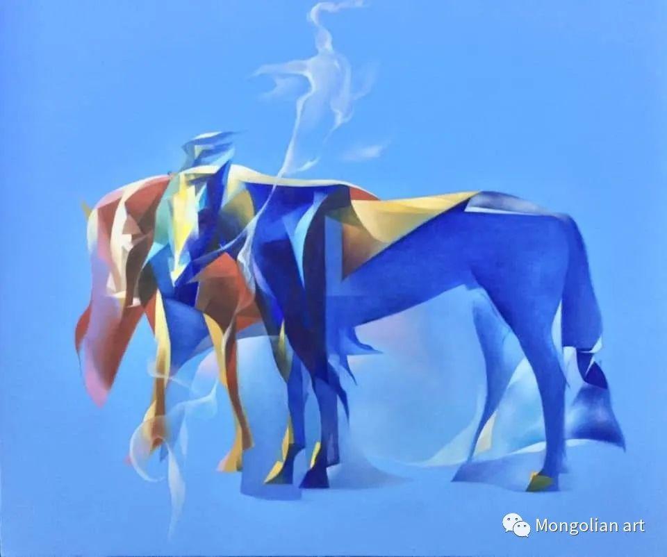 蒙古国青年艺术家 U.Battsooj 第36张