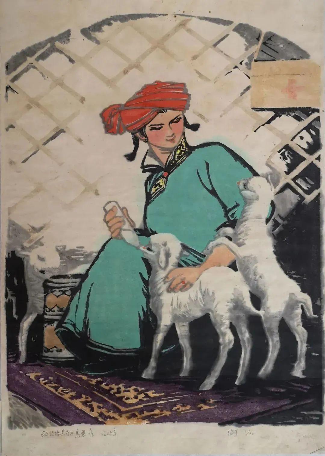 内蒙古现代美术的拓荒者乌恩 第9张