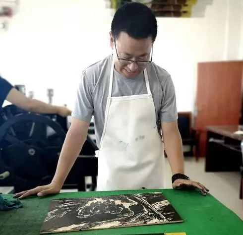 扎力根版画作品欣赏 第1张 扎力根版画作品欣赏 蒙古画廊